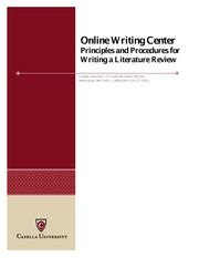 Literature review in psychology